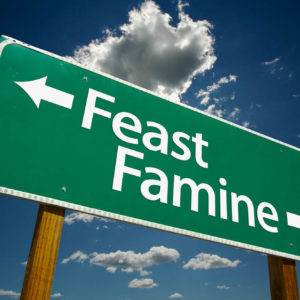 Collective Wound, Self-Sabotage, Feast or Famine