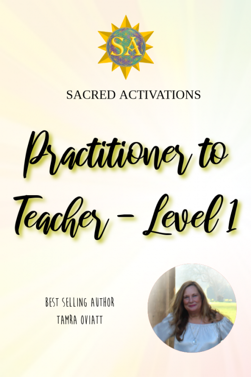 Sacred Activations - Practitioner to Teacher - Level 1 Spiritual Awakening Signs // Sacred Geometry // Christ Consciousness // Raise Your Vibrational Energy // Energy Healing Modalities