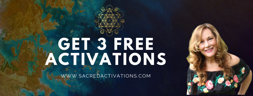 3 Free Activations - Sacred Activations by Tamra Oviatt - Find out how these sacred activations can improve your life. #sacredactivations #sacredgeometry Lord Metatron // Seed Of Life // Anger & Resentment Towards God