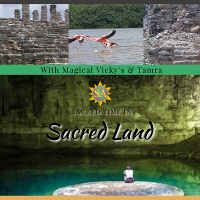 Sacred Time In Sacred Land With Magical Vicky's & Tamra. You will get to experience a magical retreat with powerful energies received from Mexico's beloved sacred sites. Float is beautiful, healing cenotes and feel the life changing energetic healing from the Sacred land. How To Raise Your Consciousness // Healing Modalities // How To Access Christ Consciousness // Reiki Healing Energy , Shamanism, Theta Healing.#sacredactivations