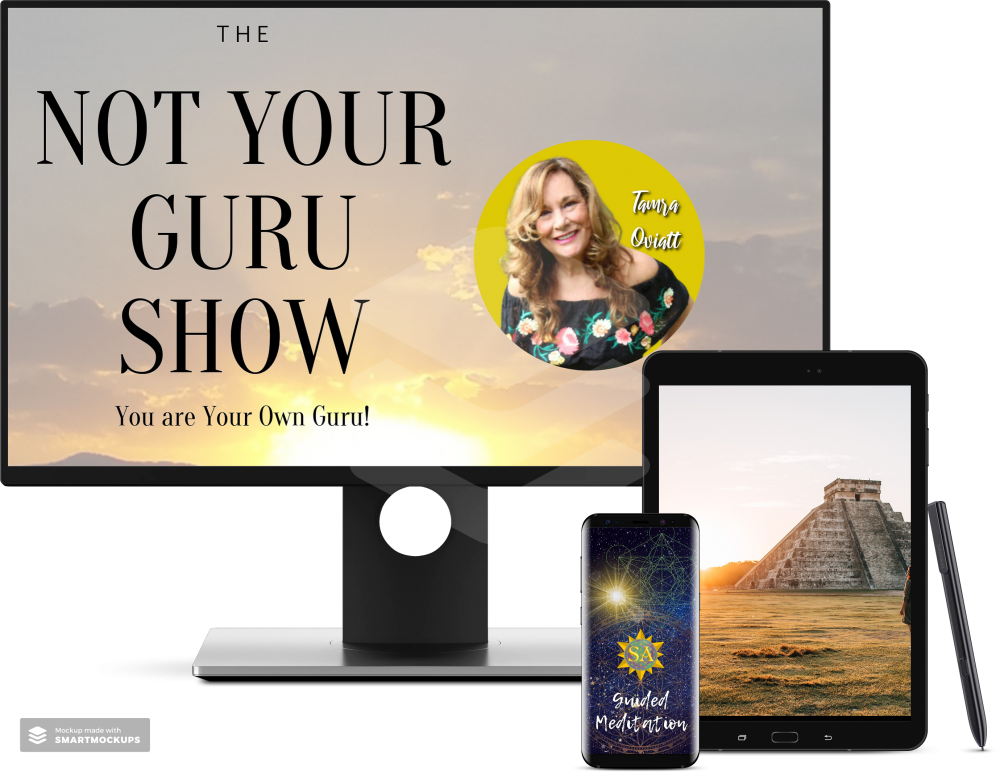 The Not Your Guru Show - Live with Tamra Oviatt. Join Tamra & special guests and learn how to harness your own power and manifest a life of peace, love, health, happiness & abundance. Experience powerful healing modalities and sacred Christ Consciousness energy. You have the power inside , you are your own Guru! Balance chakras & awaken kundilini energy.